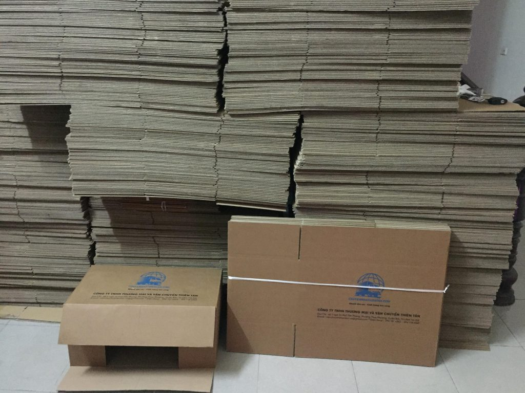 bán thùng carton giá rẻ tại Hà Nội