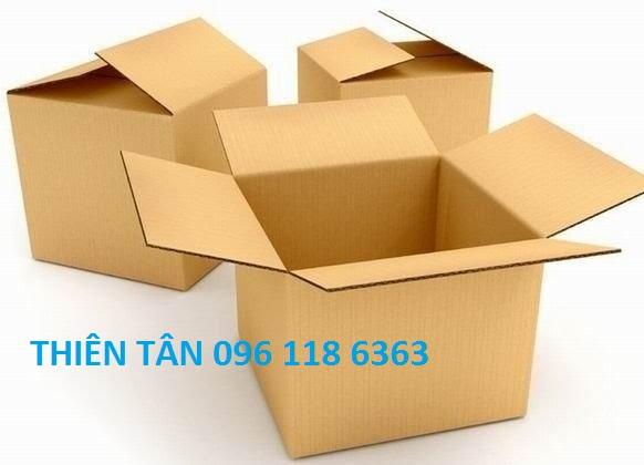 Bán thùng carton cũ giá rẻ tại Hà Nội